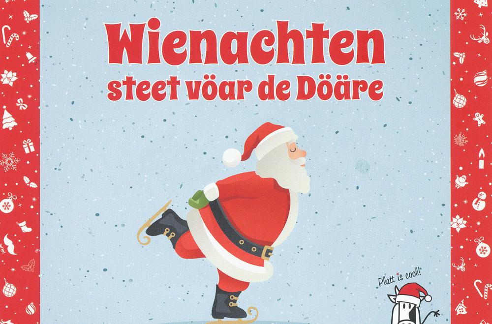 Frohe weihnacht auf plattdeutsch